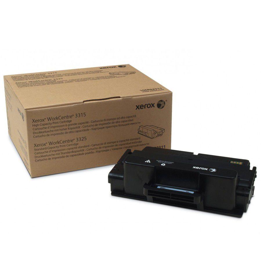 Cartucho De Toner Xerox 3315/3325 Preto 106R02310  5K