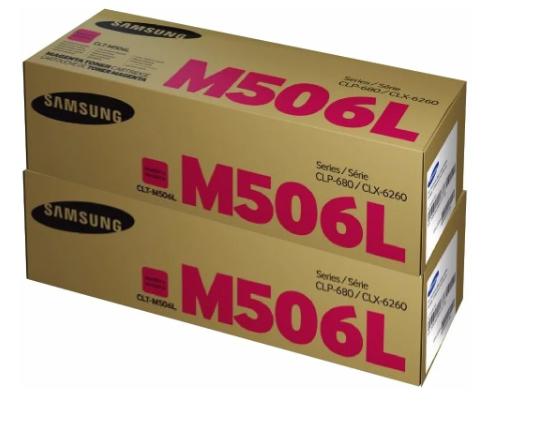 TONER SAMSUNG CLT-M506L MAGENTA   CLX6260FR CLP680ND   ORIGINAL 3.5K