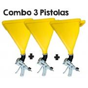 Combo 3 Pistola de Projeção