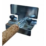 Frisador para massa  -2 cm meia cana
