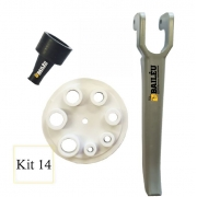 Kit 14 - Acessórios Pistola de Projeção