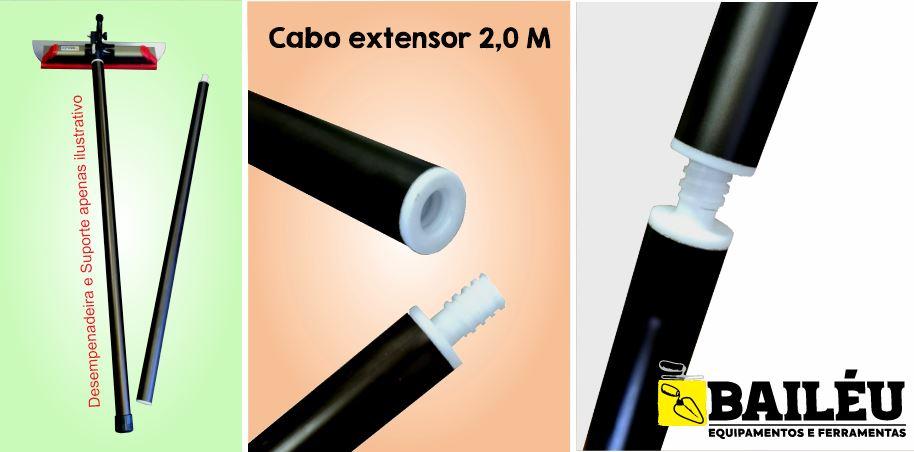 Cabo Extensor Para Pintura Telescópico 2,0 Metros