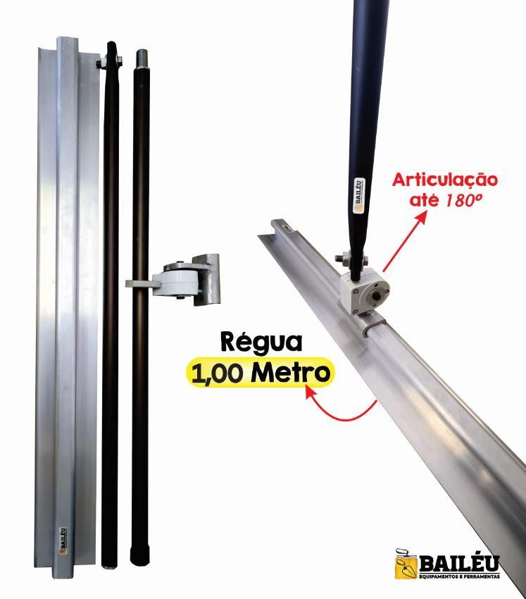 Float Aluminio - Niveladora de Concreto 1,0m