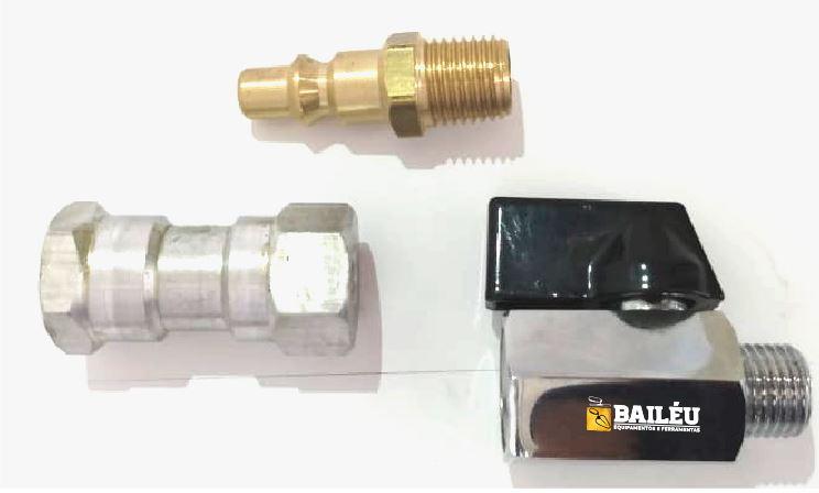 Kit 03 - Acessórios Pistola de Projeção