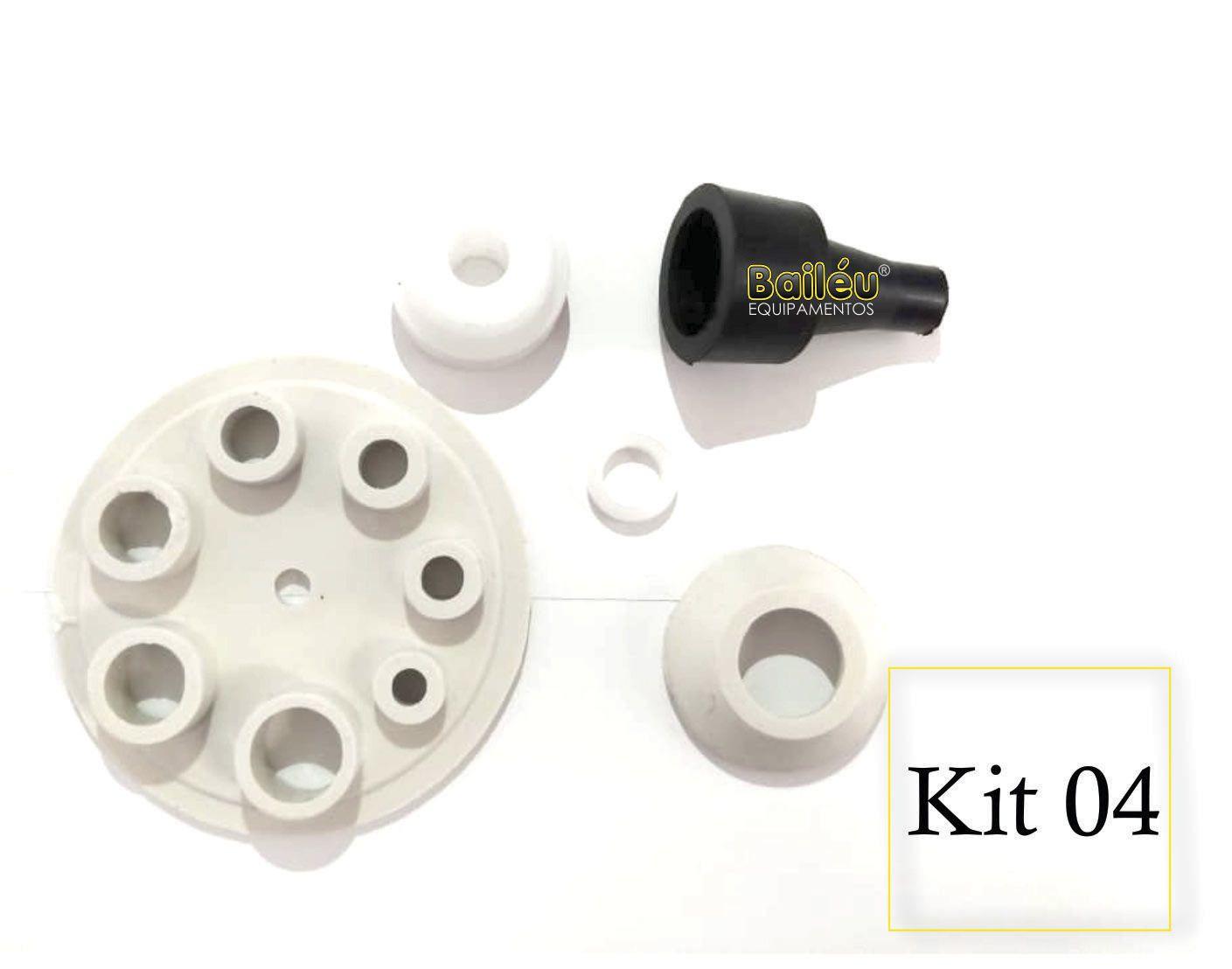 Kit 4 - Acessórios Pistola de Projeção