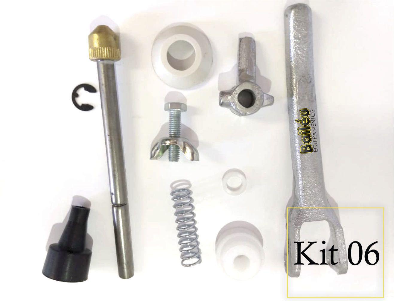 Kit 06 - Acessórios Pistola de Projeção