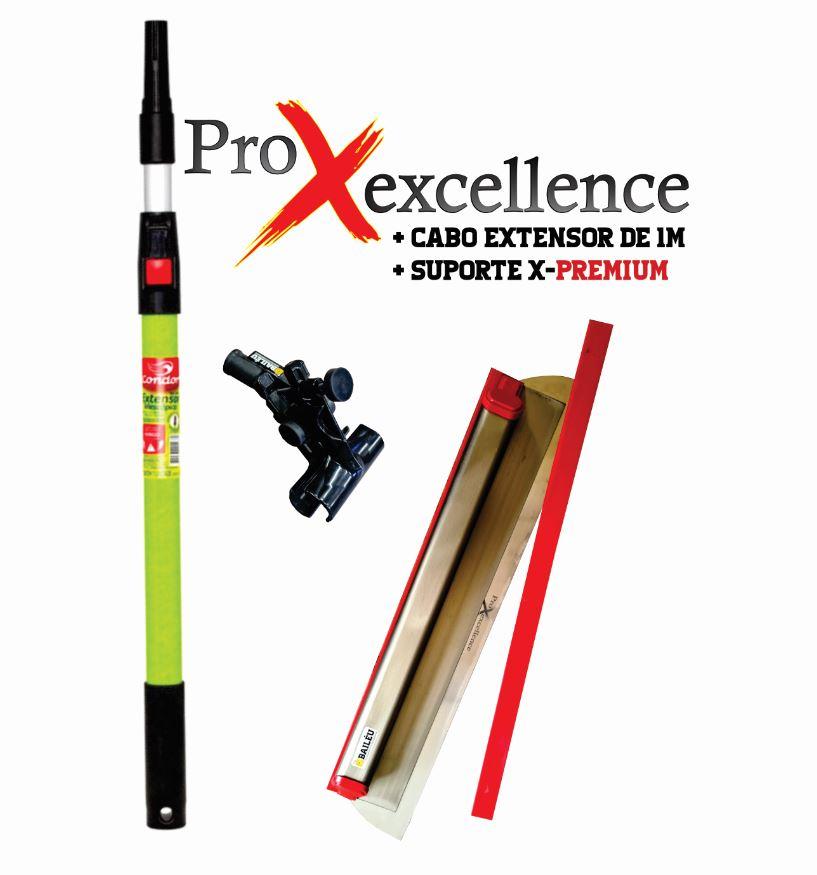 Kit Desempenadeira Premium ProX 60 cm , suporte e cabo 1M