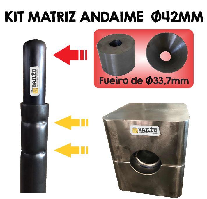 Kit Matriz para Andaime + Boleador
