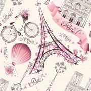 Papel de Parede Infantojuvenil Paris CO-902  - Cole Aí