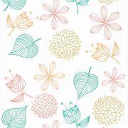 Papel de Parede Floral CO-207  - Cole Aí
