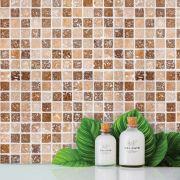 Papel de Parede Para Banheiro Pastilha CO-507 - Cole Aí