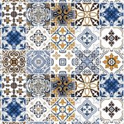 Papel de Parede Para Cozinha Azulejo CO-408 - Cole Aí