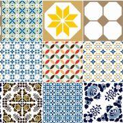 Papel de Parede Para Cozinha Azulejo CO-413 - Cole Aí