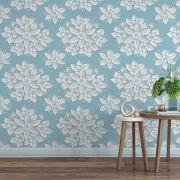 Papel de Parede Para Sala Floral CO-623 - Cole Aí