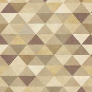 Papel de Parede Para Sala Mosaico - Cole Aí