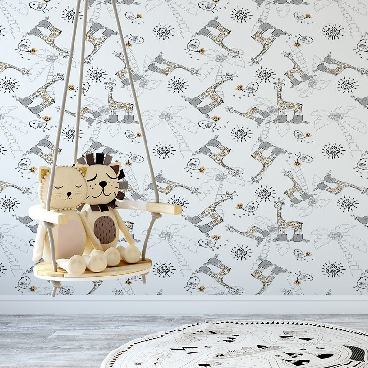 Papel de Parede  Baby Animal CO-227 Cole Aí