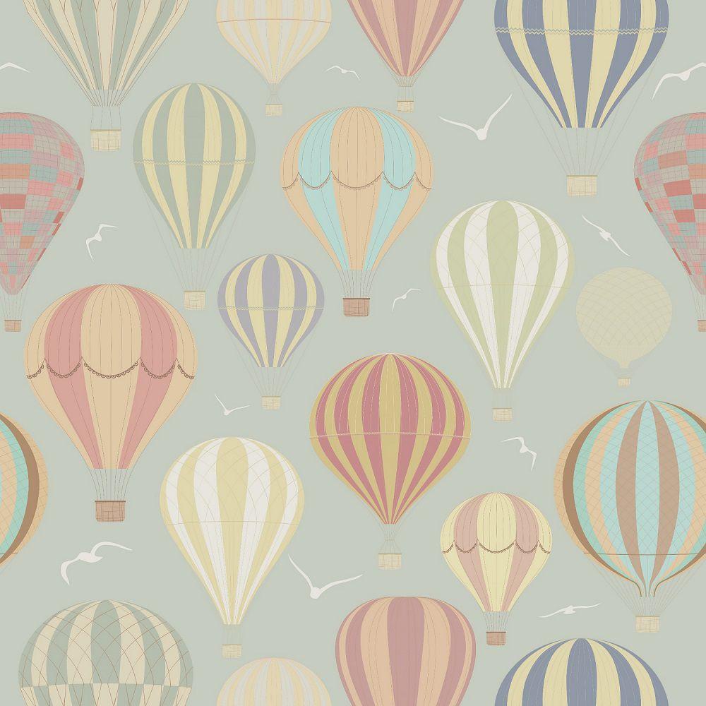 Papel de Parede Infantil Balões CO802- Cole Aí