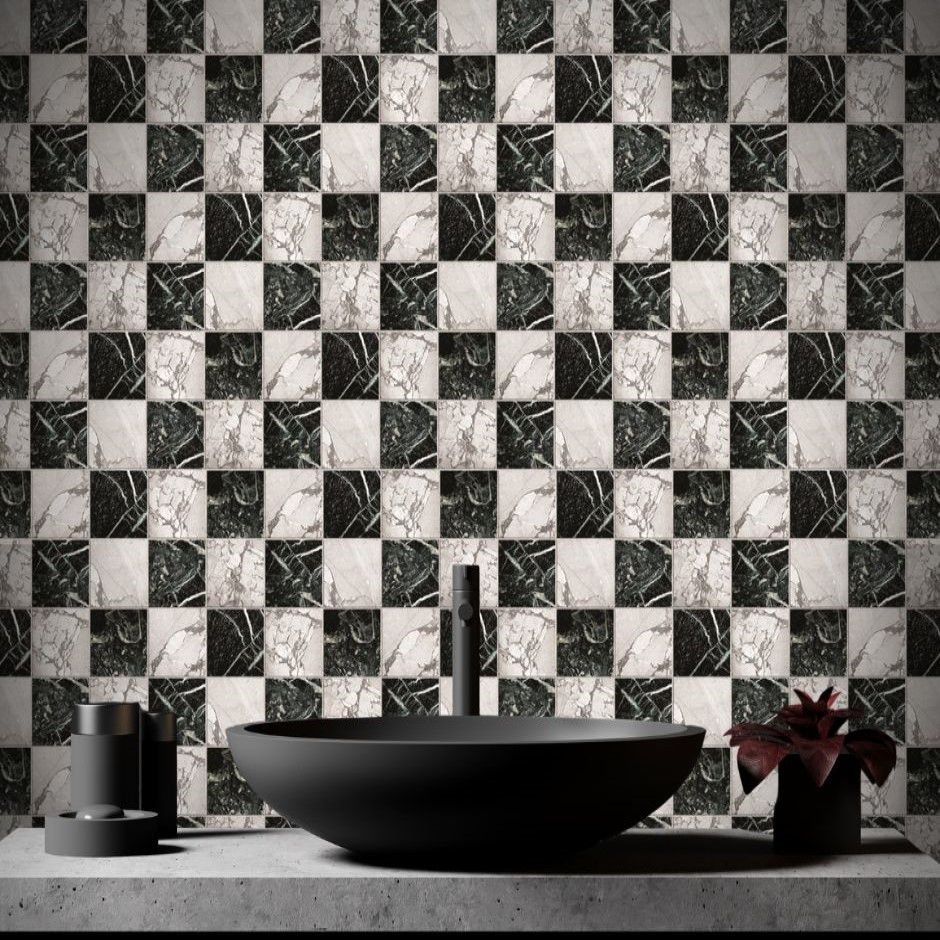Papel de Parede Para Banheiro Pedras CO-513 - Cole Aí