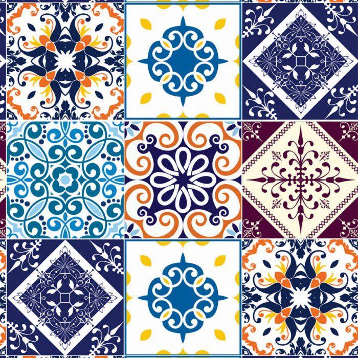 Papel de Parede Para Cozinha Azulejo CO-409 - Cole Aí
