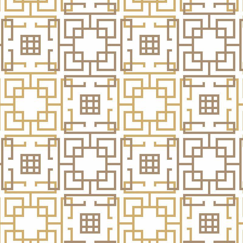 Papel de Parede Para Cozinha Mosaico Marrom - Cole Aí