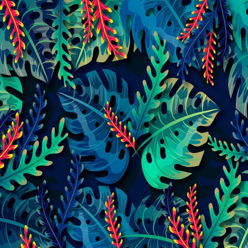 Papel de Parede Tropical CO-06 - Cole Aí