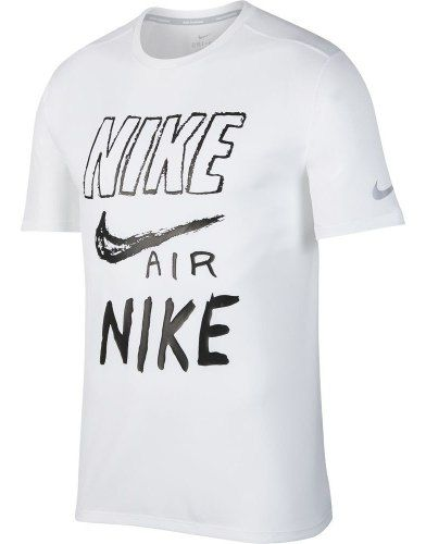 Camiseta Nike Breathe Run Graphic Masculina  - Ferron Sport