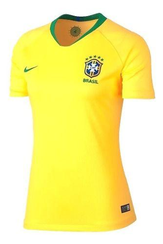 Camisa Nike Brasil Torcedor I 2018/19 Feminina  - Ferron Sport