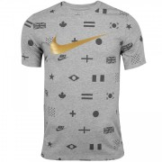 Camiseta Nike Sportswear Preheat Printed Masculina