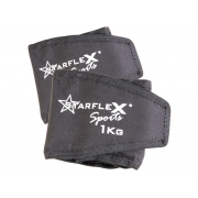 Caneleira Peso Starflex 1kg Unissex - Par