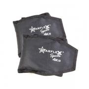 Caneleira Peso Starflex 4kg Unissex - Par