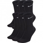 Meia Nike Everyday Cushion Cano Alto - 6 Pares