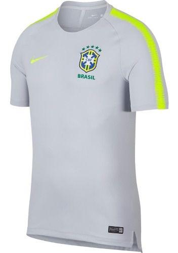 Camisa Nike Brasil Treino Breathe  - Ferron Sport