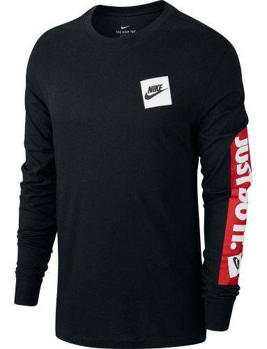 Camiseta Manga Longa Nike Sportswear Jdi Masculina  - Ferron Sport