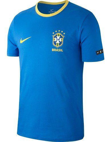Camisa Nike Brasil Crest Masculina  - Ferron Sport
