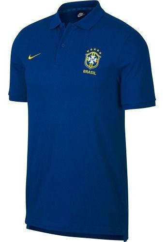 Camisa Polo Nike Brasil Masculina  - Ferron Sport