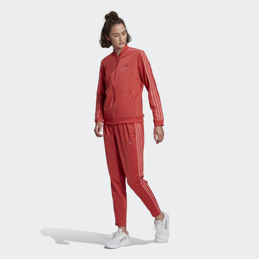 Agasalho Adidas Essentials 3 Listras Feminino  - Ferron Sport