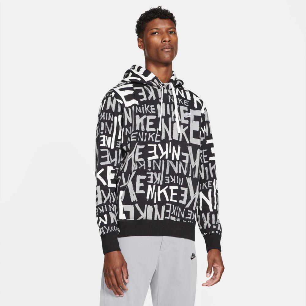 Blusão Nike Club Hoodie Printed Masculino  - Ferron Sport