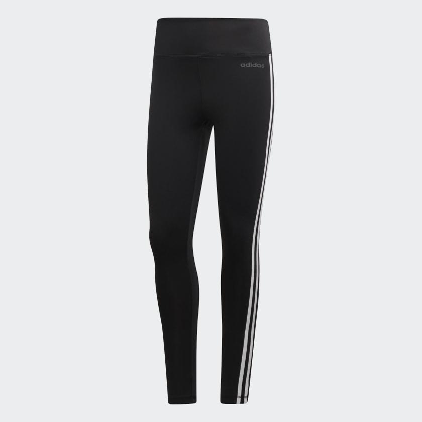Calça Legging Adidas 3 Listras  - Ferron Sport
