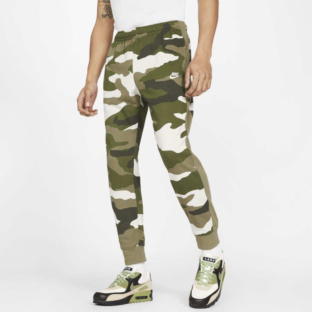 Calça Nike Sportswear Club Camo Masculina  - Ferron Sport