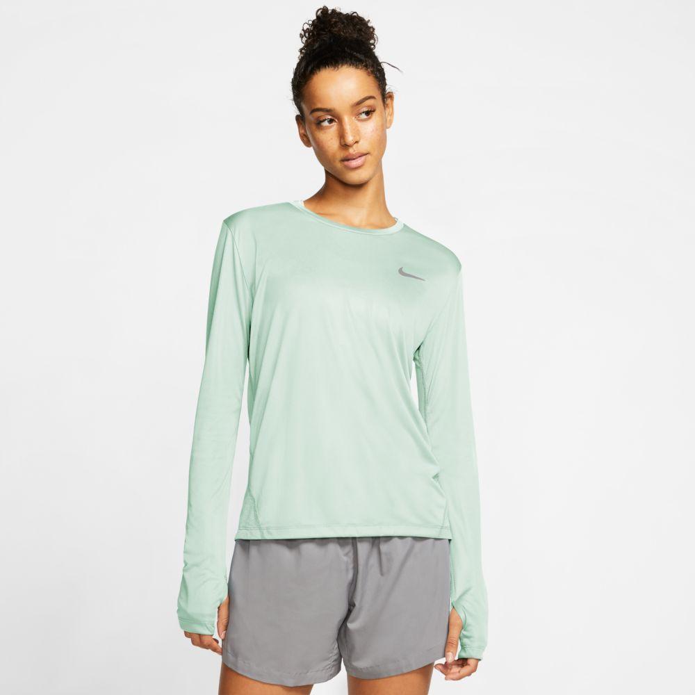 Camiseta Manga Longa Nike Dry Miler Feminina  - Ferron Sport