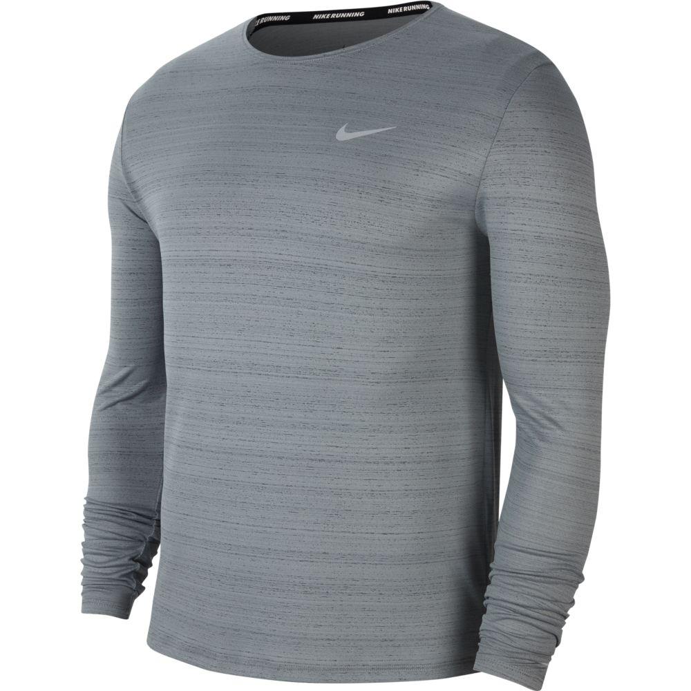 Camiseta Manga Longa Nike Dry Miler Masculina  - Ferron Sport