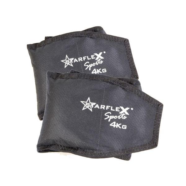 Caneleira Peso Starflex 4kg Unissex - Par  - Ferron Sport