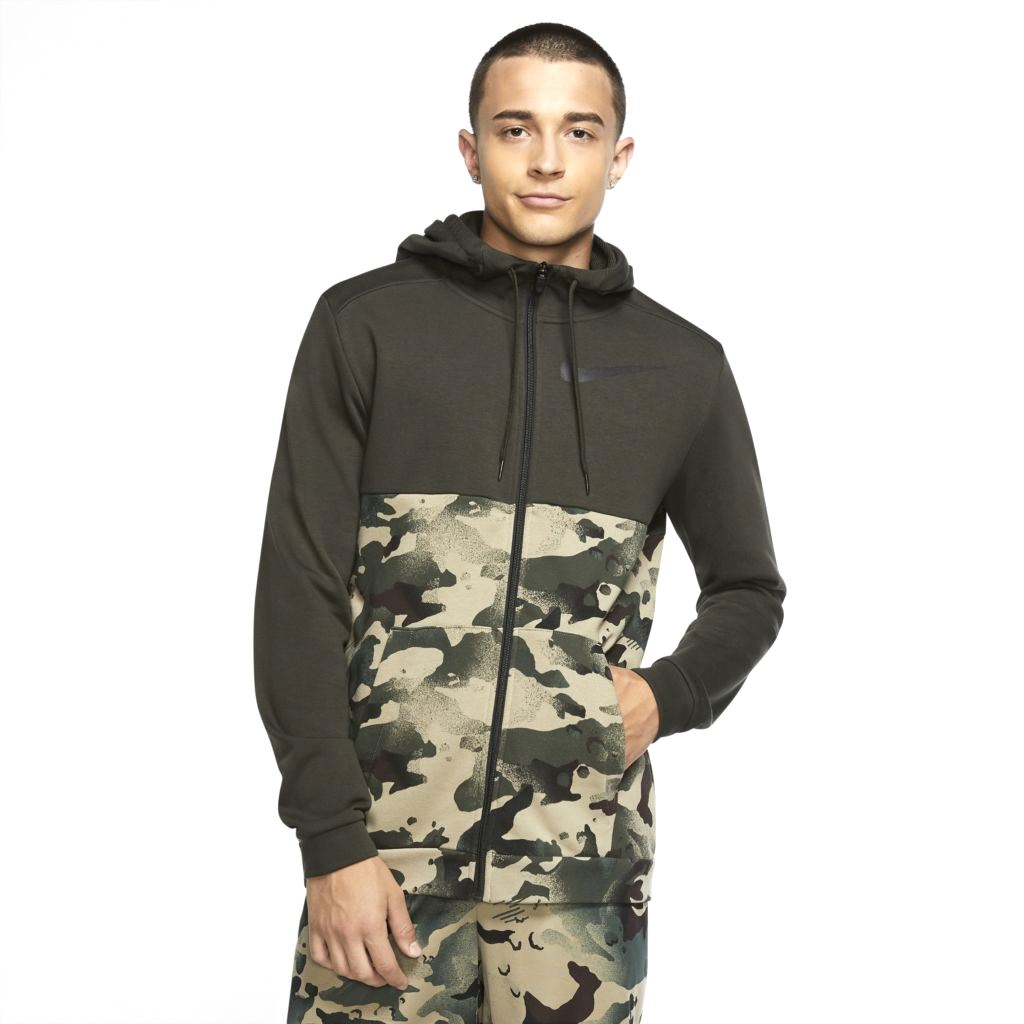 Jaqueta Nike Dri-fit Fleece Camo Masculina  - Ferron Sport