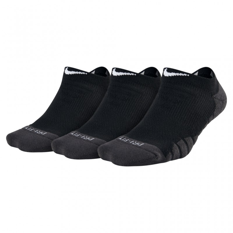 Meia Nike Dry Cushion Sem Cano Feminina - 3 Pares  - Ferron Sport