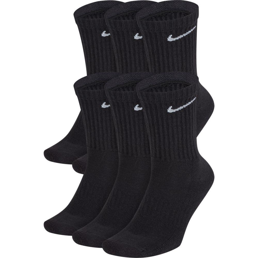 Meia Nike Everyday Cushion Cano Alto - 6 Pares  - Ferron Sport