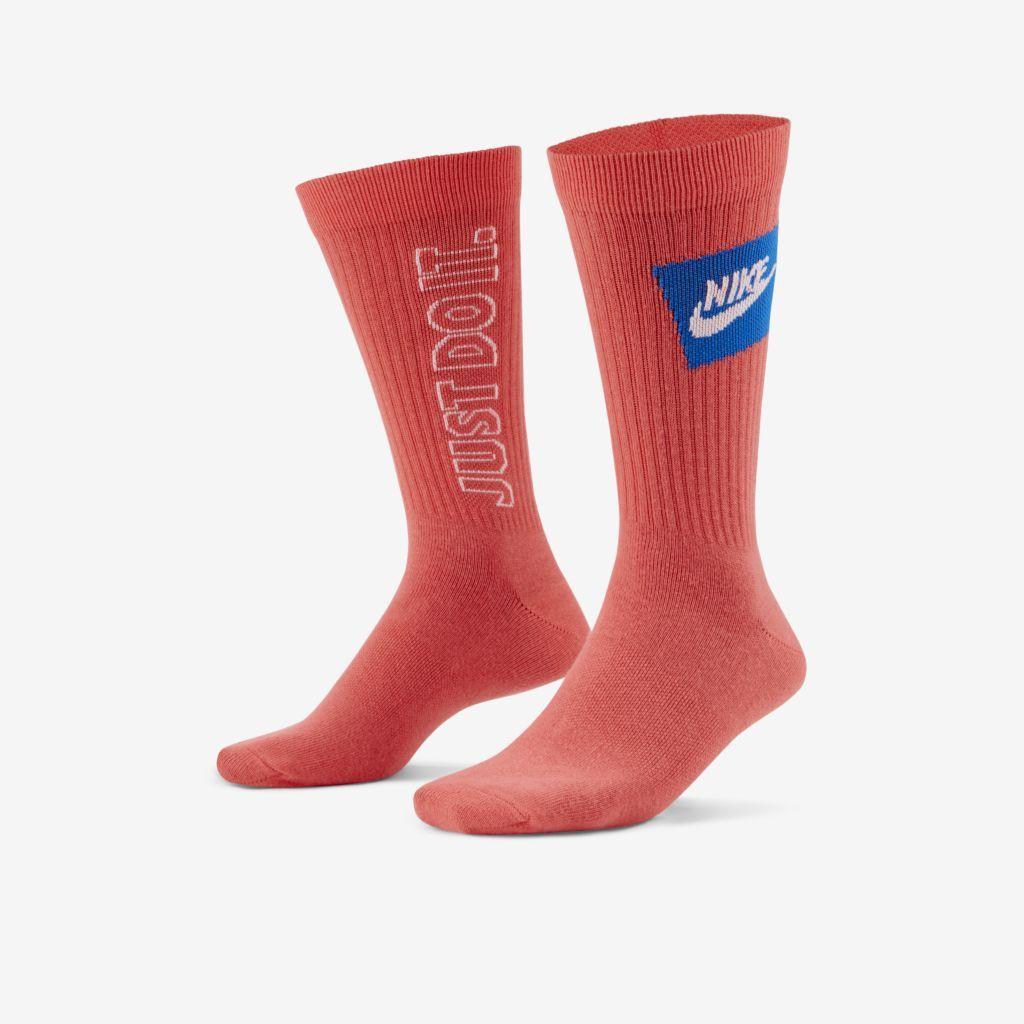 Meia Nike Everyday Essential Cano Alto - 3 Pares  - Ferron Sport