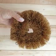 Bucha Esponja Grande de Fibra de Coco para lavar pneu tênis para casa cozinha lava louça e limpeza geral