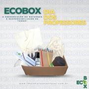 ECOBOX - Feliz dia do Professor! Essa caixinha reune itens muito especiais pra presentear quem tanto ensina!