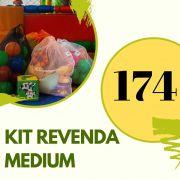 Kit REVENDA MEDIUM 174 saquinhos