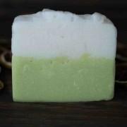 Sabonete em barra Limão Siciliano e Chá Branco Cosmético Natural Artesanal Like Sugar Linha Cosmética Sustentável